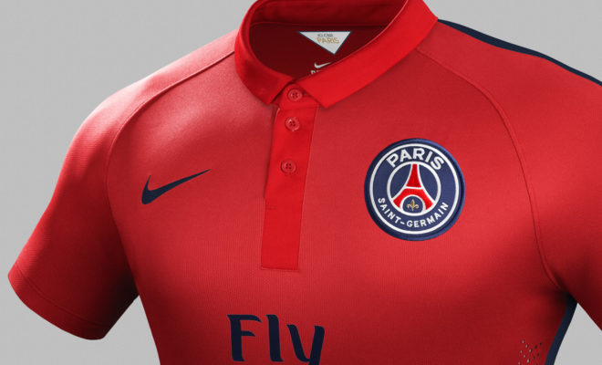 3e Maillot du Paris Saint-Germain - couleur rouge