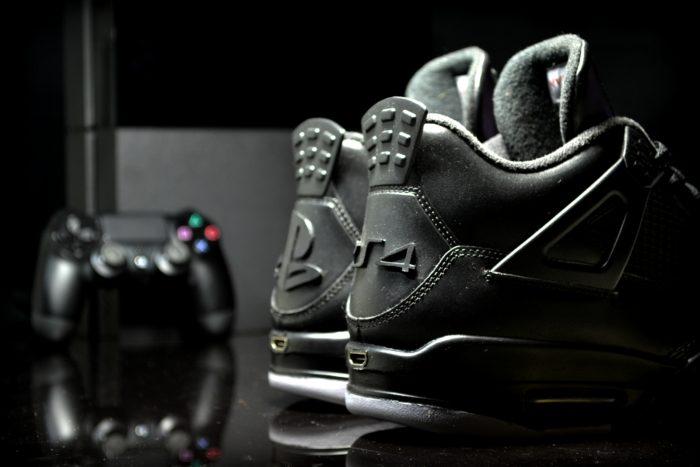 Air Jordan 4 Customisation PS4 by FreakerSneaks