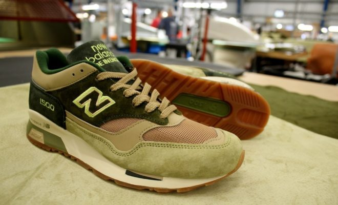 New Balance 1500 x Starcow - Made In England - green