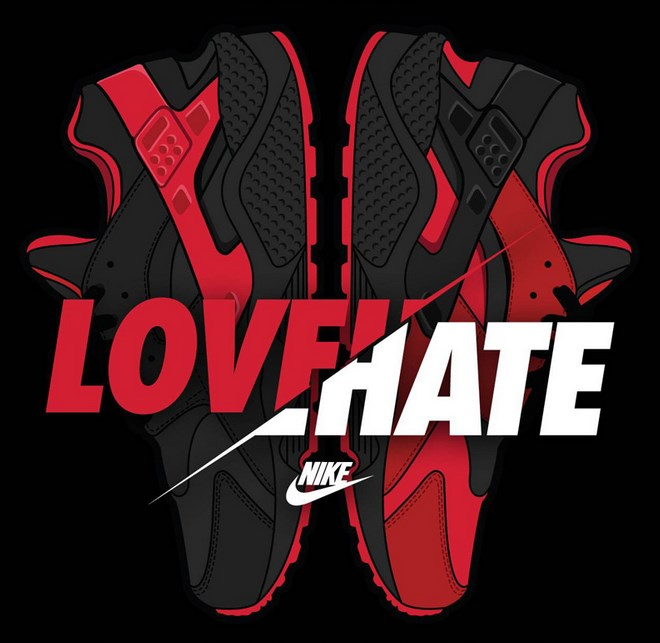 Nike Air Huarache Love and Hate