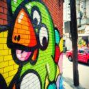 Oeuvre mural des Birdy Kids à Bangkok