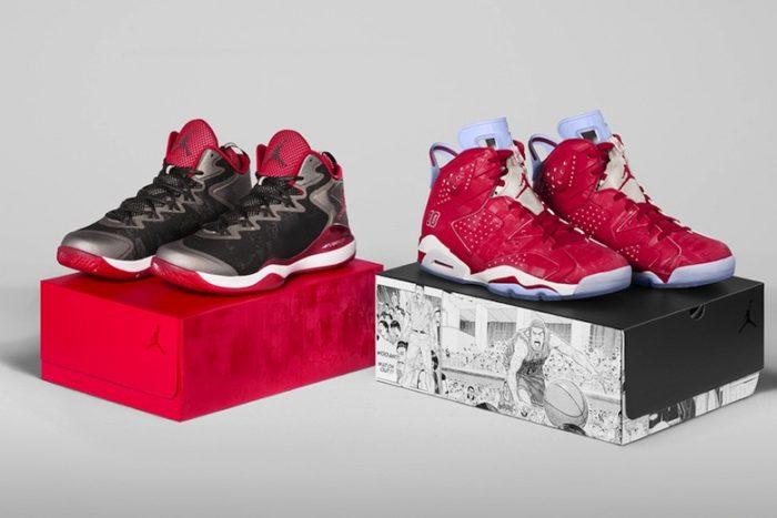 Collection Air Jordan Slam Dunk