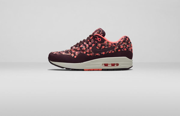 Nike Air Max 1 Liberty London Collection Belmont Iv Burgundy
