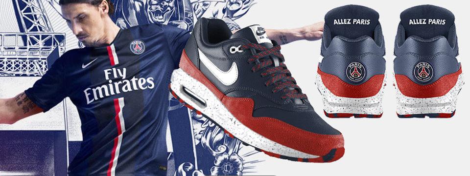 Nike Air Max 1 PSG à personnaliser sur NikeiD | Sneak art