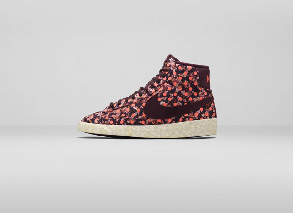 Nike Blazer Liberty of London Collection Belmont Ivy Burgundy