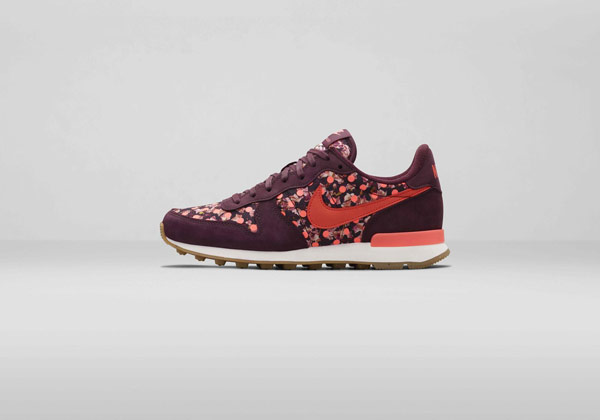 Nike Internationalist Liberty London Collection Belmont Ivy Burgundy