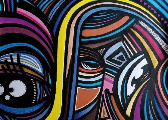 Psico Street art