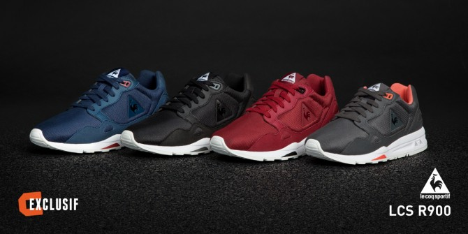 Collection LCS R900 Le Coq Sportif 2015