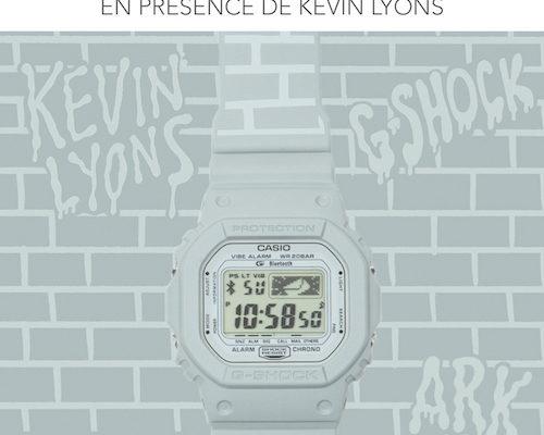 Montre G-shock Kevin Lyons