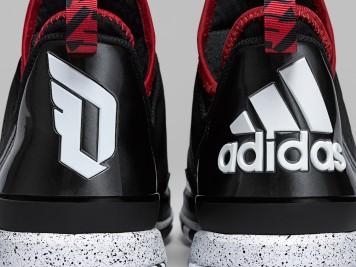 Adidas D Lillard 1 Rip City Detail