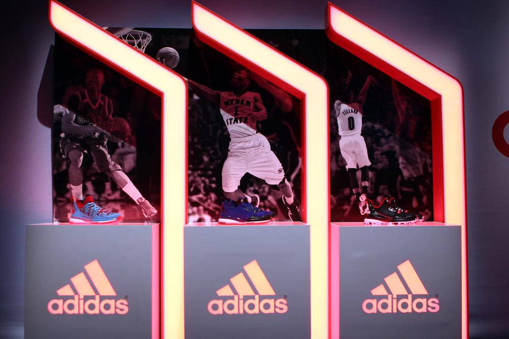 Lancement de la Basket D Lillard 1 Adidas