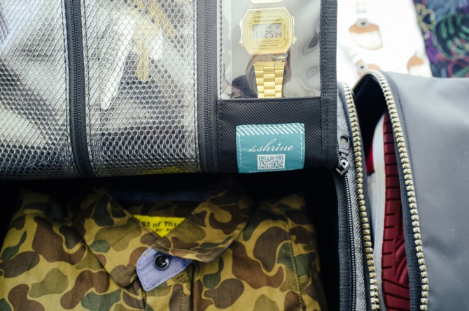 Shrine Sneaker Duffel Sac
