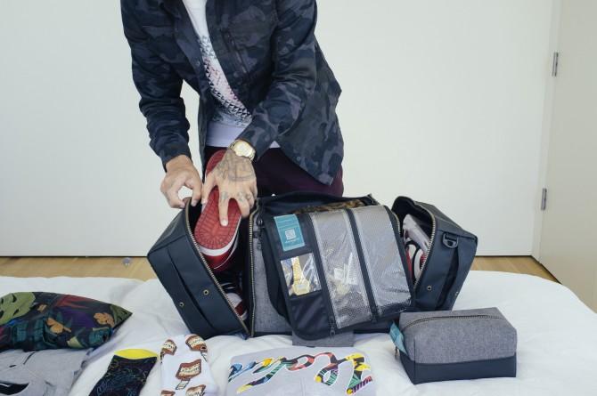 Shrine Sneaker Duffel Sac de voyage
