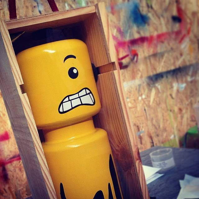 CyKlop in a Box Street Art