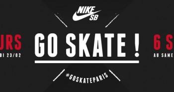Go Skate Paris Nike SB