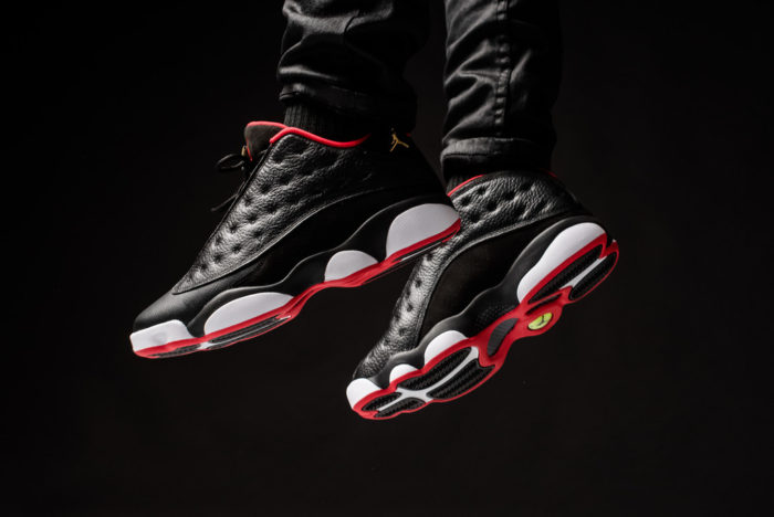 Air Jordan 13 low Bred Black