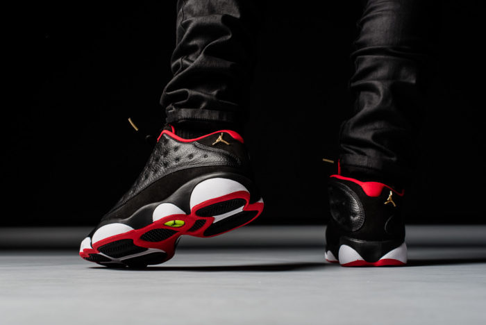 visuel NIke Air Jordan 13 Low Bred