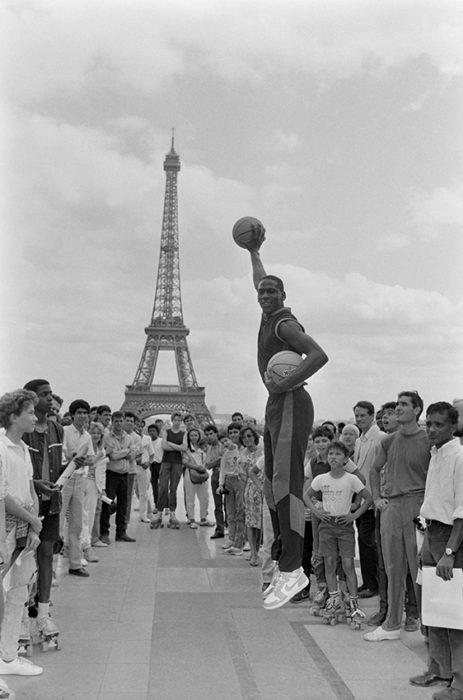 Michael JORDAN A PARIS
