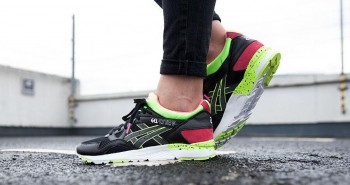Asics Gel Lyte V 90s Pack Black Neon womens