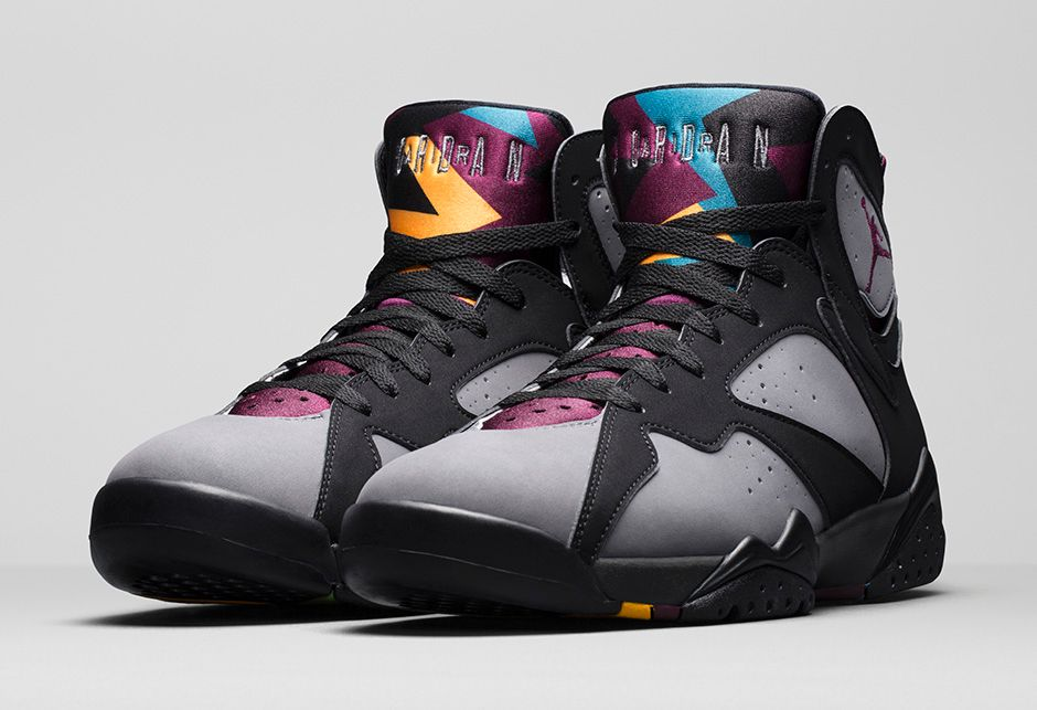 NIKE AIR JORDAN 7 BORDEAUX 2015