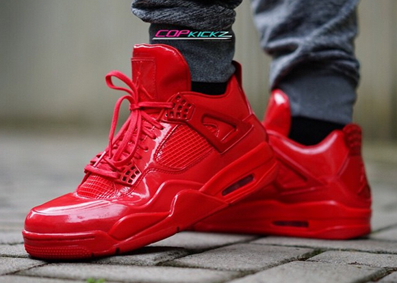 Nike Air Jordan IV 4 11lab4 University Red