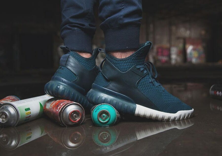 adidas tubular X Knit Midnight Navy