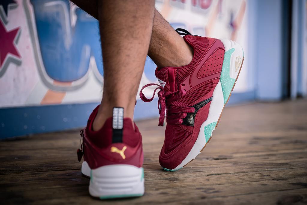 Sneaker Freaker X Puma Blaze of Glory « Bloodbath »   Sneak art