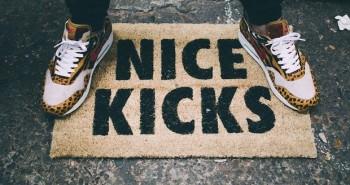 Paillasson Nice Kicks pour Sneakers Addict
