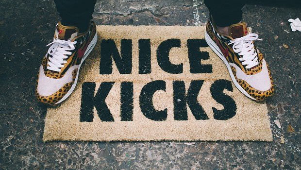 Paillasson Nice Kicks pour Sneakers Addict