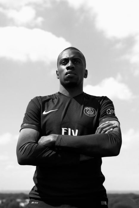 Maillot Noir PSG Nike Dark Light Matuidi