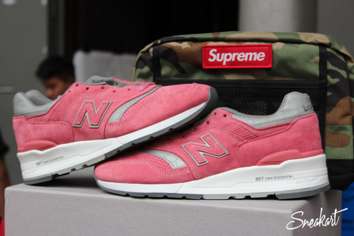 New Balance 997 rose - Sneakerness Paris