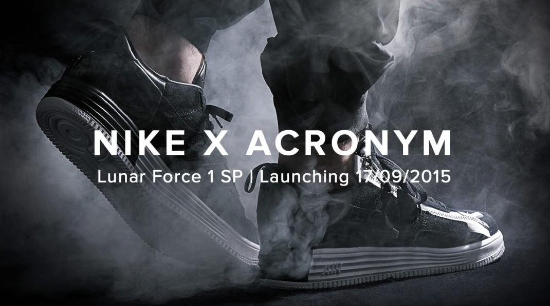 NikeLab X Acronym - Lunar Force 1 SP