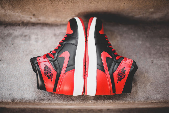Air Jordan 1 High The Return Black Gym Red