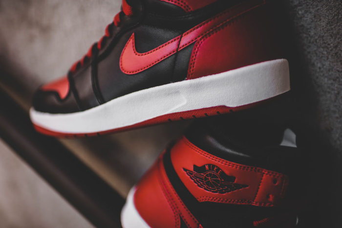 "Air Jordan 1 High ""The Return Black"" Gym Red"