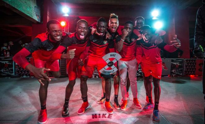 Danube City Vainqueur du tournoi Winner Stays Paris Nike FootballX