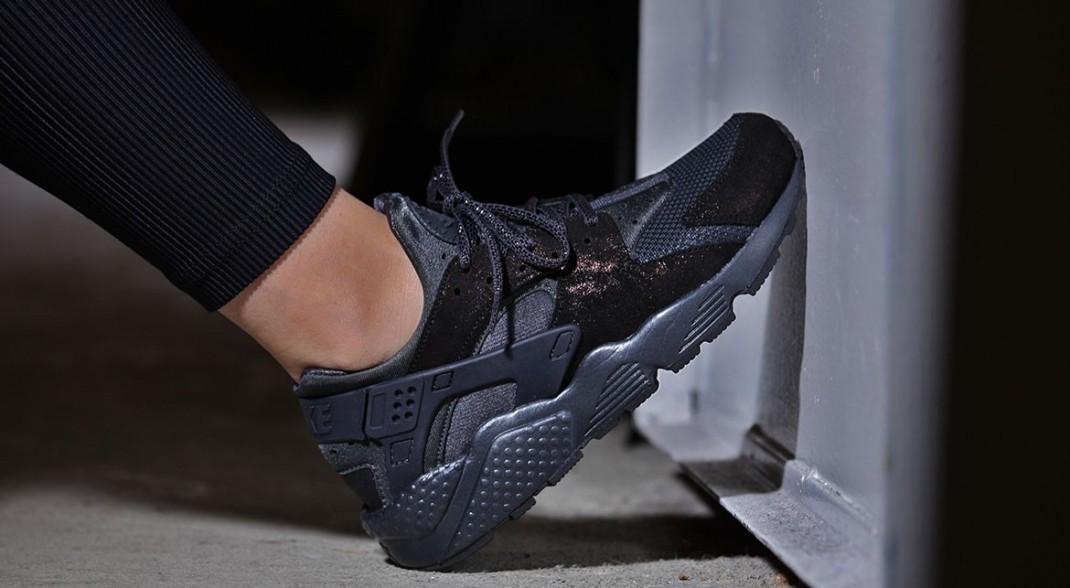 Nike Air Huarache Run Anthracite pour femme