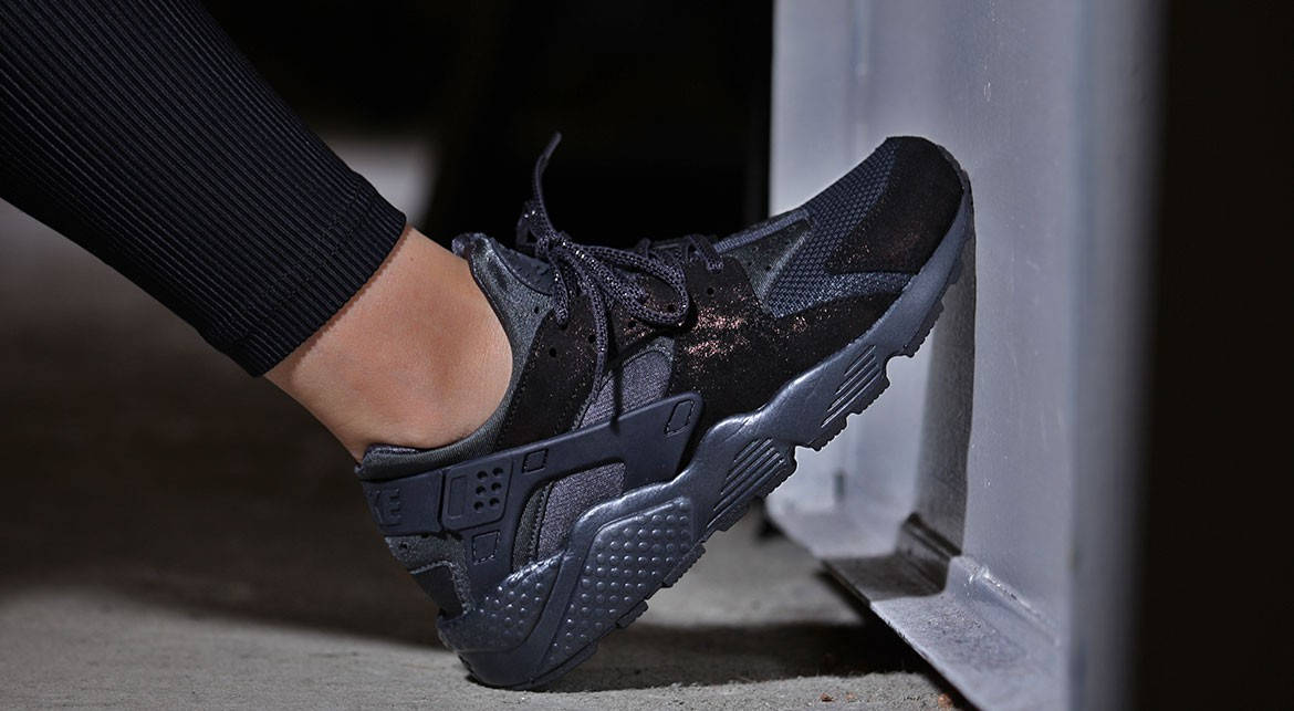big sale 806aa f44b7 Nike Air Huarache Run Anthracite pour femme