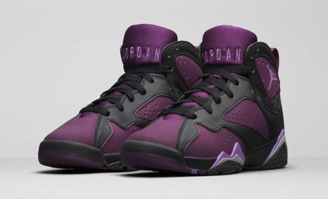 Air Jordan 7 Mulberry pour fille