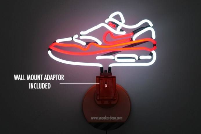 Lampe Neon Nike Air Max 1 par SneakerDeco