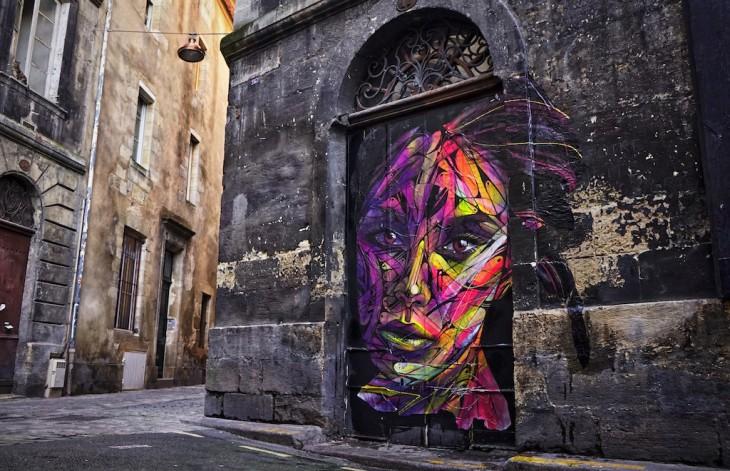 Street Art Bordeaux : hopare nouvelle oeuvre street art bordeaux sneak art ~ Farleysfitness.com Idées de Décoration