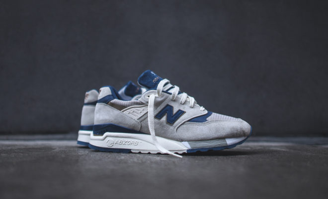 New Balance M998 GreyNavy - Made in USA