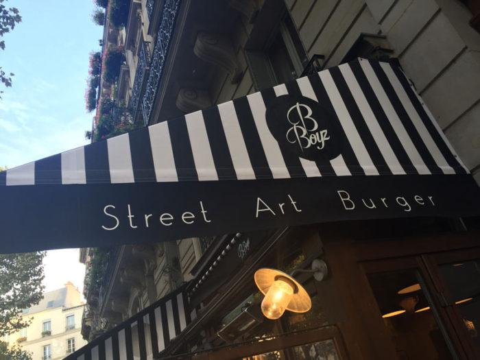 B-BOYZ Street Art Burger