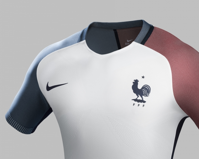 Maillot Exterieur Equipe France Euro 2016