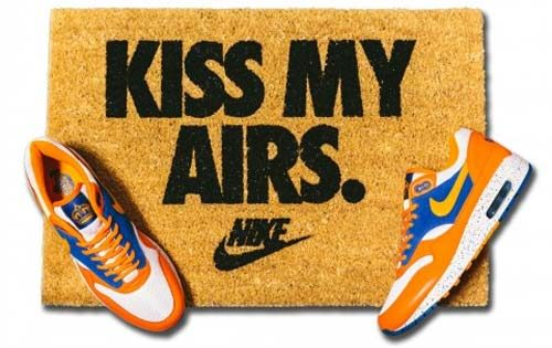 Paillasson Nike Kiss My Airs - Overkill