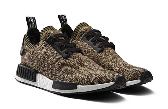 Chaussure adidas NMD Primeknit Olive BA8597