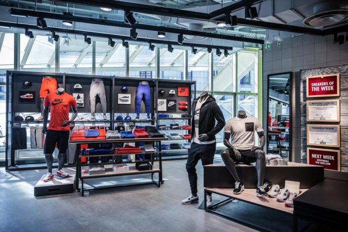 Nouveau Nike Store Forum Halles