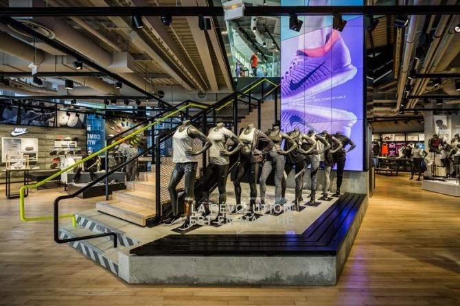 Nouvelle Boutique Nike Forum des Halles