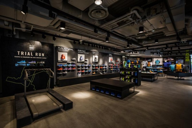Paris Running Club Nike Store Forum des Halles