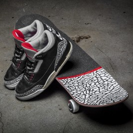 Air Jordan 3 Skateboard Globe X JORDAN HEADS BROOKLYN