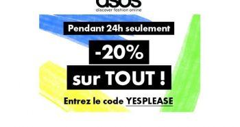Asos Code Promo Yesplease